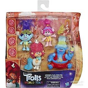 Maleta Playset Trolls 2 - E8406 - Hasbro