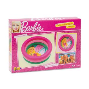 Barbie - Praia Piscina Fashion Pequena 68l - Fun