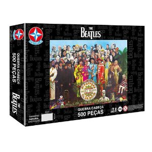 Quebra Cabeça The Beatles 2000 Peças Brinquedos Estrela