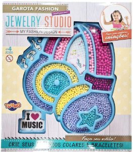 Kit Micangas Fabrica Colares E Braceletes Fone Jewelry Studi