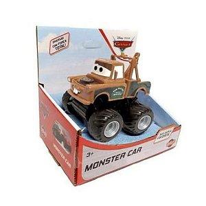 Monster Carros Tow Mater Veículo Roda Livre  Toyng