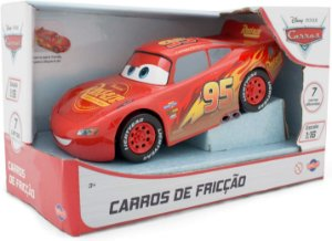 Carrinho Mcqueen 22cm Com Fricção Carros 3 Toyng