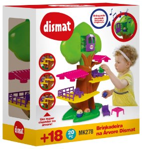 Brinquedo Educativo Brinkadeira NA Arvore 20PCS
