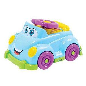 Carrinho Baby Driver 218 Jp Brink Brinquedo Azul