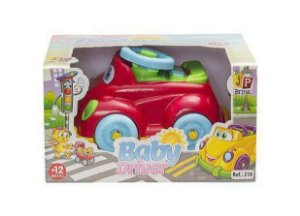Carrinho Baby Driver 218 Jp Brink Brinquedo Vermelho