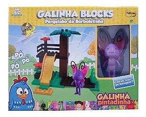 Galinha Pintadinha Blocks - Parquinho Da Borboletinha
