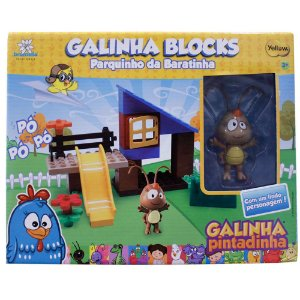 Galinha Pintadinha Blocks - Parquinho da Baratinha