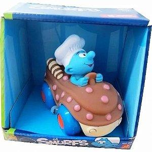Carrinhos Os Smurfs - Chef- Divertoys