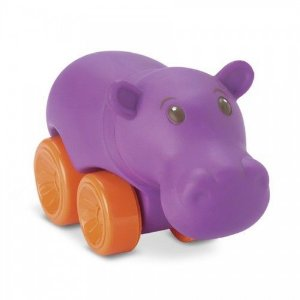 Coleção Bichinhos com Rodinhas 0135 Hipopótamo
