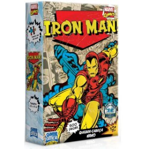 P. 500 Pçs Nano - Marvel Comics Sortido - Iron man