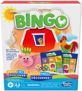 Jogo De Tabuleiro Bingo Com Animais Da Hasbro Gaming F1401 - Brinquedos