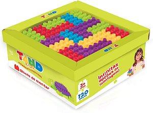 Tand Kids Super Caixa 120 Peças Toyster Brinquedos