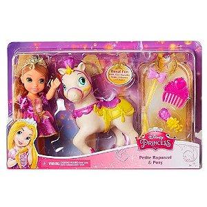Boneca Rapunzel Minha Pequena Princesa Com Pônei Mimo