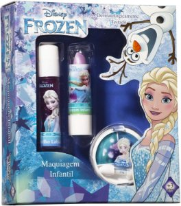 Caixa com Maquiagem Elsa Infantil, View