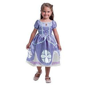 Fantasia Princesa Sofia - tamanho PP - infantil