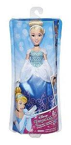 Boneca Princesas Clássica Cinderela Vestido Brilhante - B5288 - Hasbro