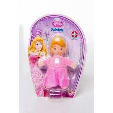 Boneca Fofolete Princesas Disney - Aurora - Estrela