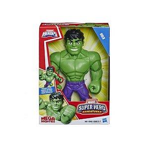Boneco Hulk Mega Mighties Super Hero Adventures Hasbro E4149