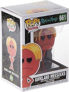 Funko Animação: Rick E Morty - Kirkland Meeseeks