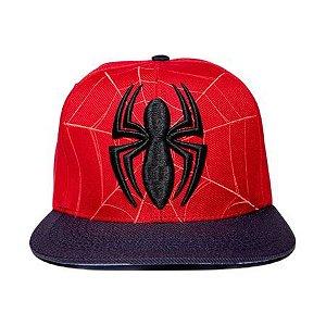 Boné Aba Reta Homem Aranha