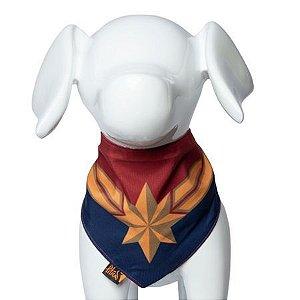 Bandana Pet Captain Marvel P/M