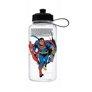 Garrafa Squeeze DC Comics Heroes