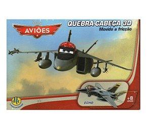 Quebra-Cabeça 3D Carros/Aviões Disney  - Echo