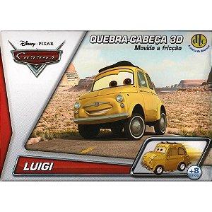 Quebra-Cabeça 3D Carros/Aviões Disney  - LUIGI