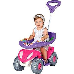 Carrinho De Passeio Super Comfort Rosa 943 Infantil Calesita