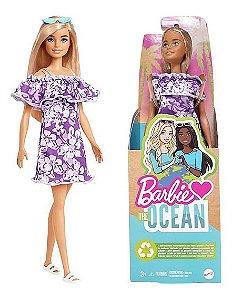 Boneca Barbie Fashionista Malibu Aniversário 50 Anos Mattel