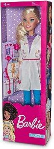 Boneca Barbie Médica 70 Cm - Fun Divirta-se