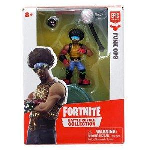 Fortnite Mini Figura Boneco 01 Personagem com Acessórios