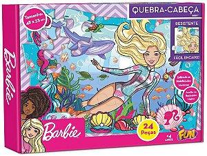 Barbie - Quebra-Cabeça 24 Pçs Cartonado
