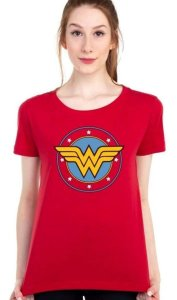 Camiseta Logo Mulher Maravilha DC Comics - Piticas BLP