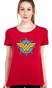 Camiseta Logo Mulher Maravilha DC Comics - Piticas BLM