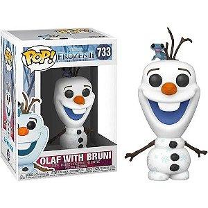 Funko Pop! Disney: Frozen II - Olaf w/ Bruni 733