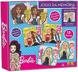 Jogo da Memória - Barbie - 24 Peças - Fun Divirta-se
