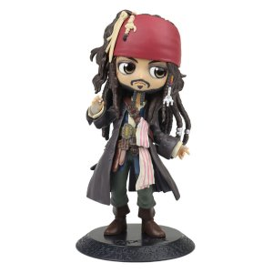 Figure Disney Characters Pirates Of The Caribbean Q Posket - Jack Sparrow