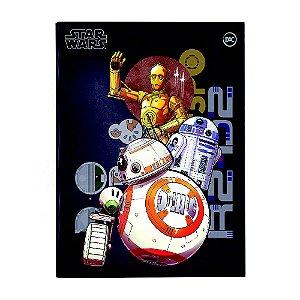 Pasta Catálogo Ofício com Lombo Ajustável Star Wars + 10 Envelopes – 3340
