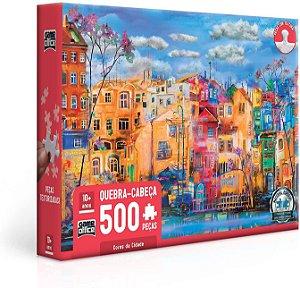 Cores da Cidade – Quebra-cabeça – 500 peças