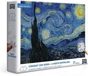Vincent Van Gogh – A Noite Estrelada – Quebra-cabeça – 1000 peças
