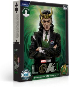 Loki – Quebra-cabeça – 500 Peças