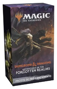 MTG Adventures in the Forgotten Realms Pre Release Pack Portugues