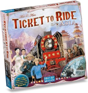 Ticket to Ride Ásia Expansão