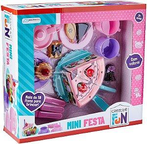 Creative Fun Mini Festa Indicado para +3 Anos Colorido Multikids - BR643