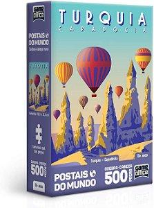 Quebra-Cabeça, Toyster, Postais Mundo, Turquia, 500 Peças