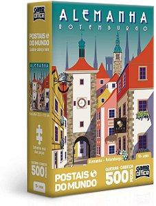 Quebra-Cabeça, Toyster, Postais Mundo, Alemanha, 500 Peças