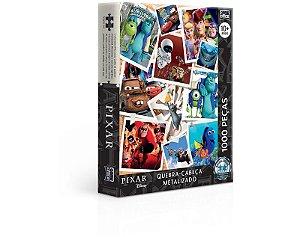 Quebra-Cabeça, Toyster, Pixar, 1000 Peças, Metalizado