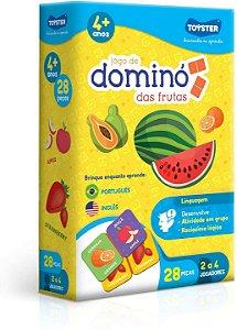 Jogo de Dominó das Frutas