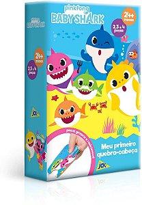 Quebra Cabeça - Meu Primeiro QC Baby Shark - 2, 3 e 4 peças